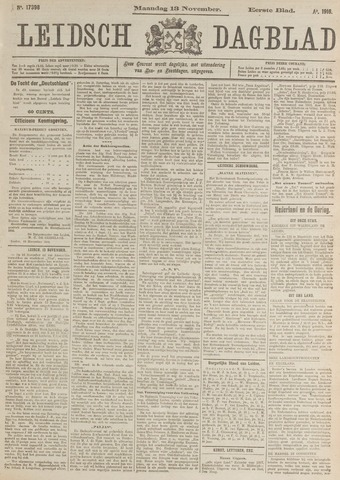 Leidsch Dagblad 1916-11-13