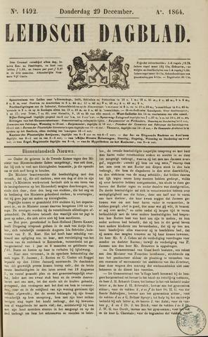 Leidsch Dagblad 1864-12-29