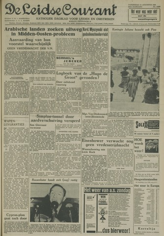 Leidse Courant 1958-08-21