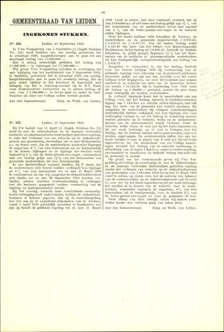 Handelingen van de Raad 1938-09-23