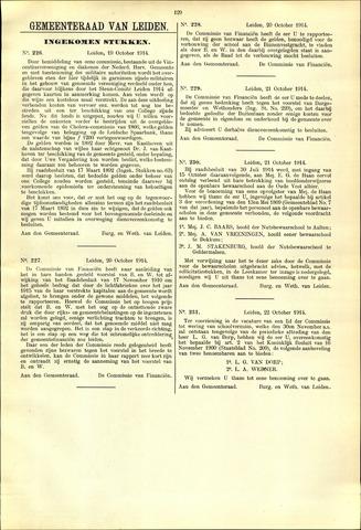 Handelingen van de Raad 1914-10-19