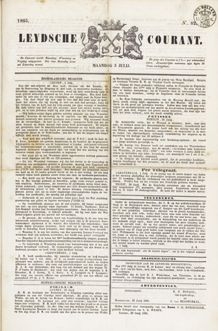 Leydse Courant 1865-07-03