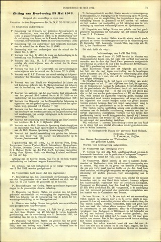 Handelingen van de Raad 1912-05-23