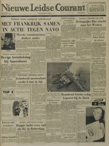 Nieuwe Leidsche Courant 1965-10-18