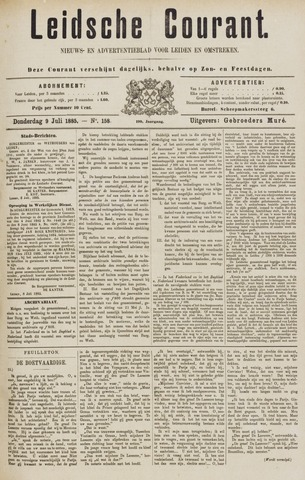 Leydse Courant 1885-07-09