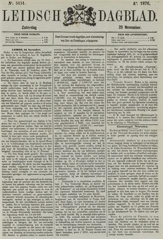 Leidsch Dagblad 1876-11-25