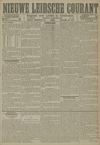 Nieuwe Leidsche Courant 1921-10-31