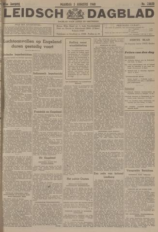 Leidsch Dagblad 1940-08-05