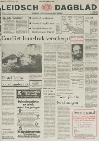 Leidsch Dagblad 1980-09-23