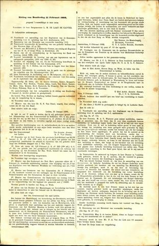 Handelingen van de Raad 1886-02-11
