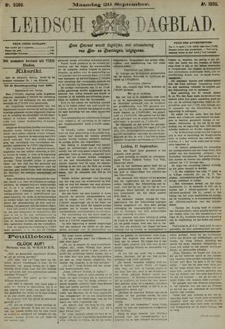 Leidsch Dagblad 1890-09-29