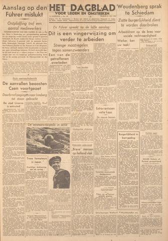 Dagblad voor Leiden en Omstreken 1944-07-21