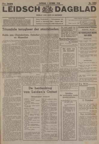 Leidsch Dagblad 1938-10-01