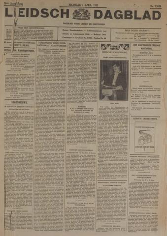 Leidsch Dagblad 1935-04-01