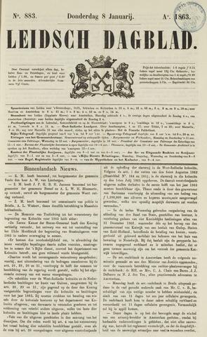 Leidsch Dagblad 1863-01-08