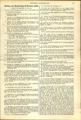 Handelingen van de Raad 1916-10-19