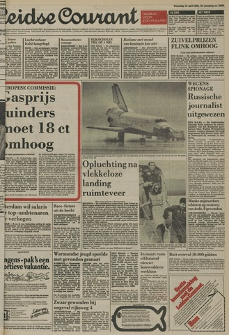 Leidse Courant 1981-04-15