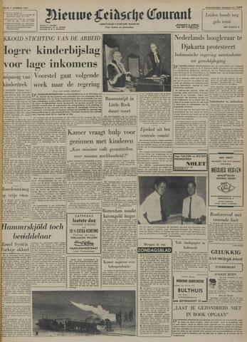 Nieuwe Leidsche Courant 1957-11-01
