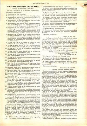 Handelingen van de Raad 1903-06-18