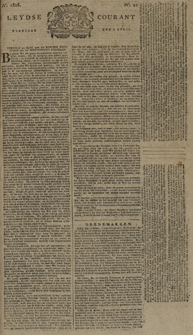 Leydse Courant 1808-04-06