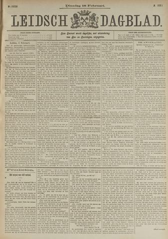 Leidsch Dagblad 1896-02-18