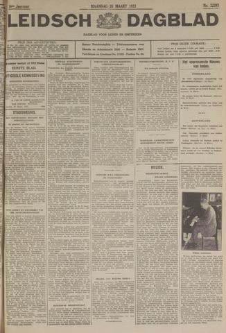 Leidsch Dagblad 1933-03-20