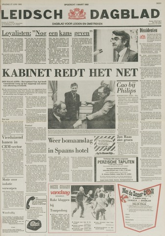 Leidsch Dagblad 1980-06-27