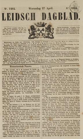 Leidsch Dagblad 1864-04-27