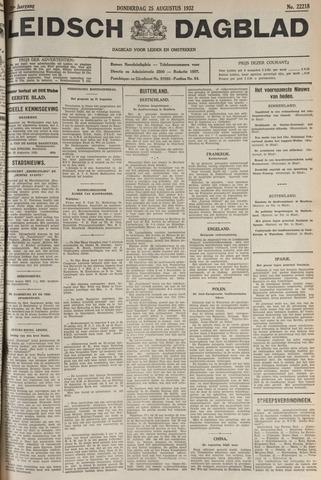 Leidsch Dagblad 1932-08-25