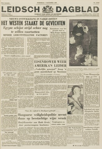 Leidsch Dagblad 1956-11-07