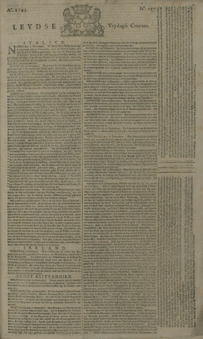 Leydse Courant 1745-12-31