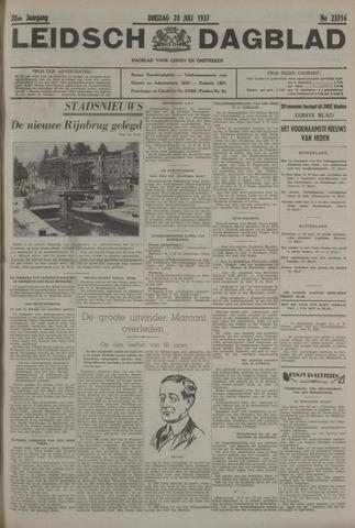 Leidsch Dagblad 1937-07-20