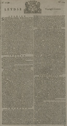 Leydse Courant 1739-10-16