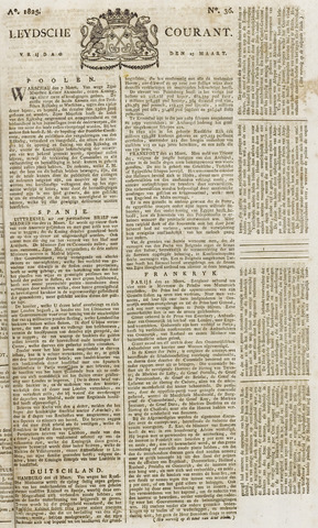 Leydse Courant 1825-03-25