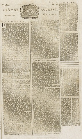 Leydse Courant 1814-03-02