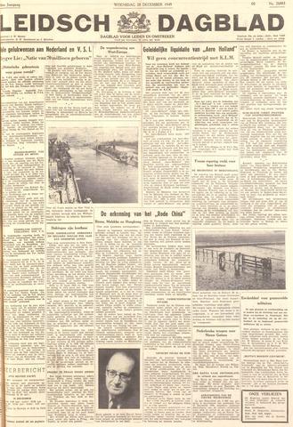 Leidsch Dagblad 1949-12-28