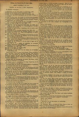 Handelingen van de Raad 1894-06-28