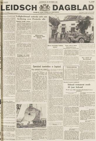 Leidsch Dagblad 1951-10-20