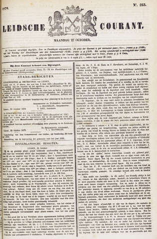 Leydse Courant 1879-10-27