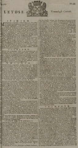 Leydse Courant 1727-10-08