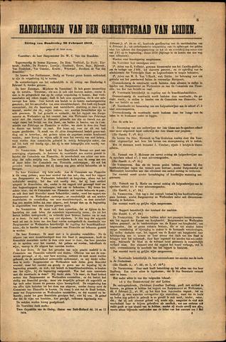 Handelingen van de Raad 1873-02-20