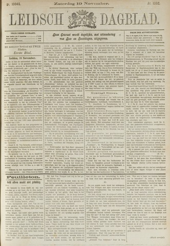 Leidsch Dagblad 1892-11-19
