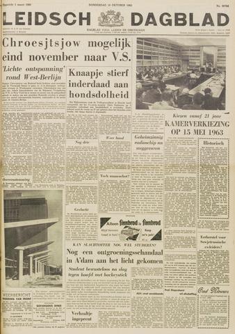 Leidsch Dagblad 1962-10-18