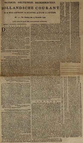 Leydse Courant 1795-11-23