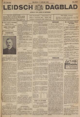 Leidsch Dagblad 1933