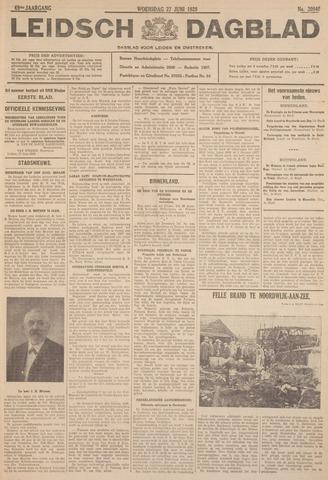 Leidsch Dagblad 1928-06-27
