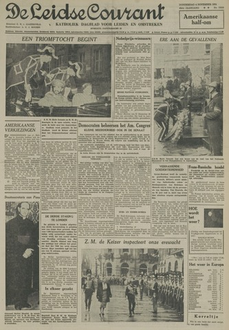 Leidse Courant 1954-11-04