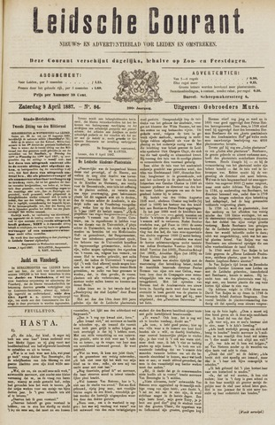 Leydse Courant 1887-04-09