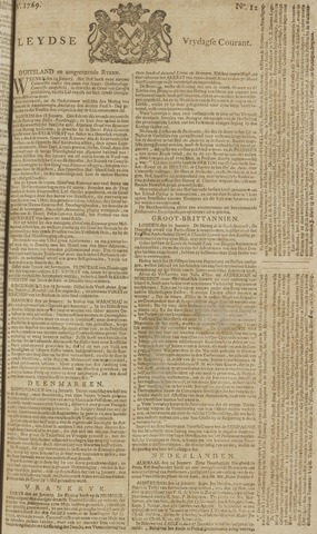 Leydse Courant 1769-01-27