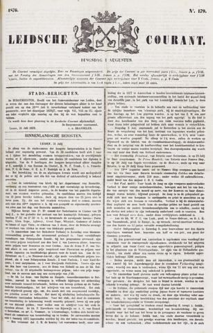 Leydse Courant 1876-08-01
